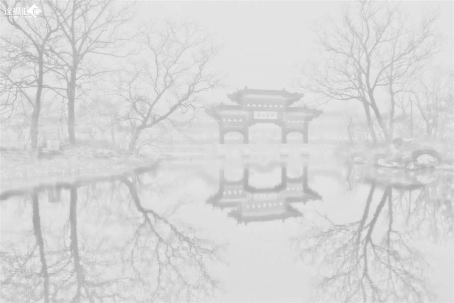 冬日瘦西湖图片