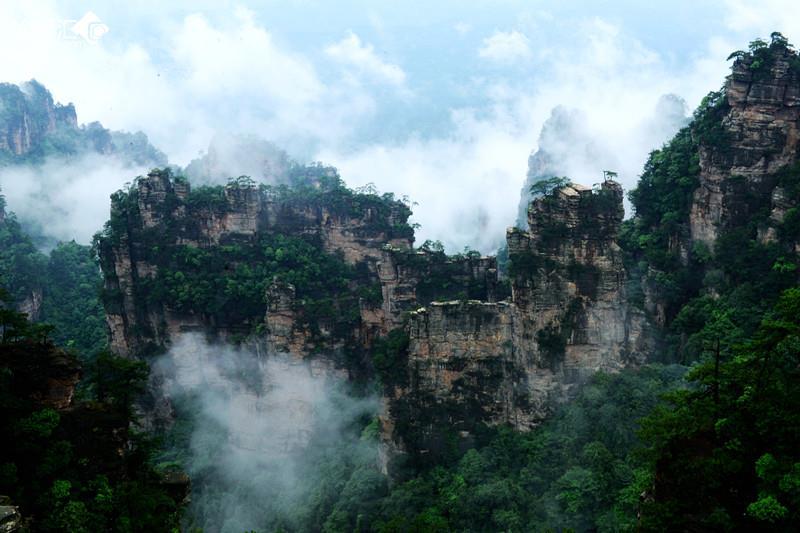2015年6月8日摄于湖南省张家界市杨家界风景区.尼康d800e相机拍摄.